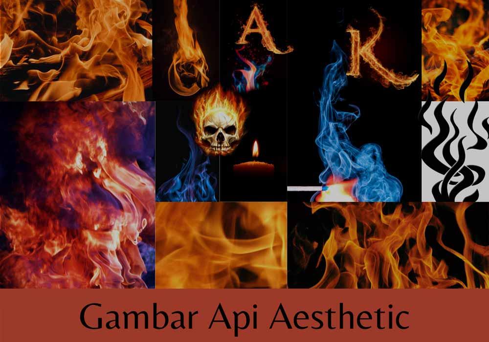 gambar api aesthetic