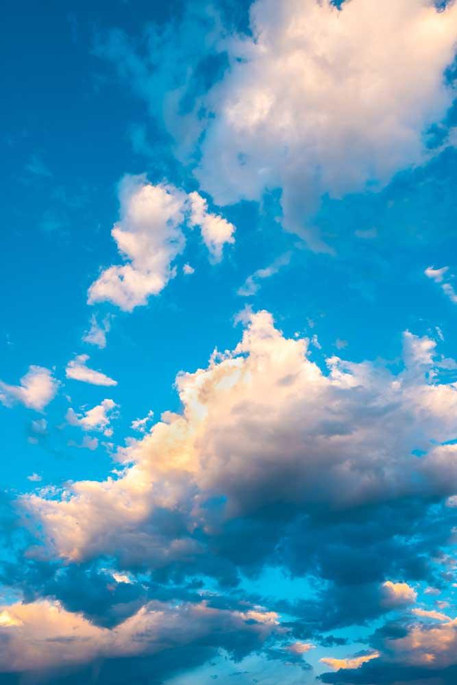gambar langit biru