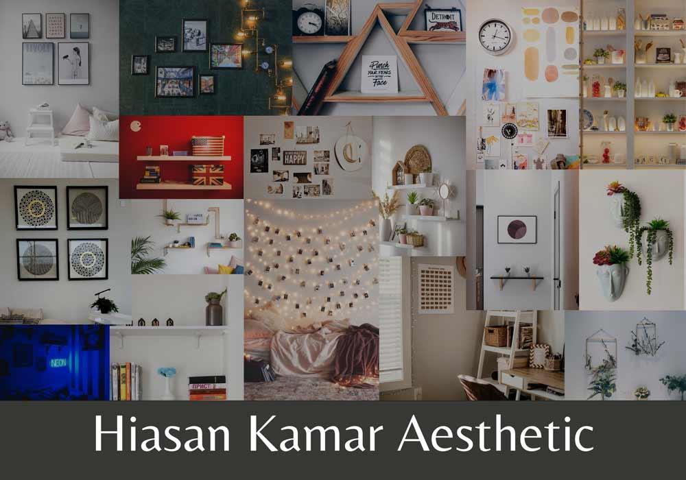 hiasan kamar aesthetic