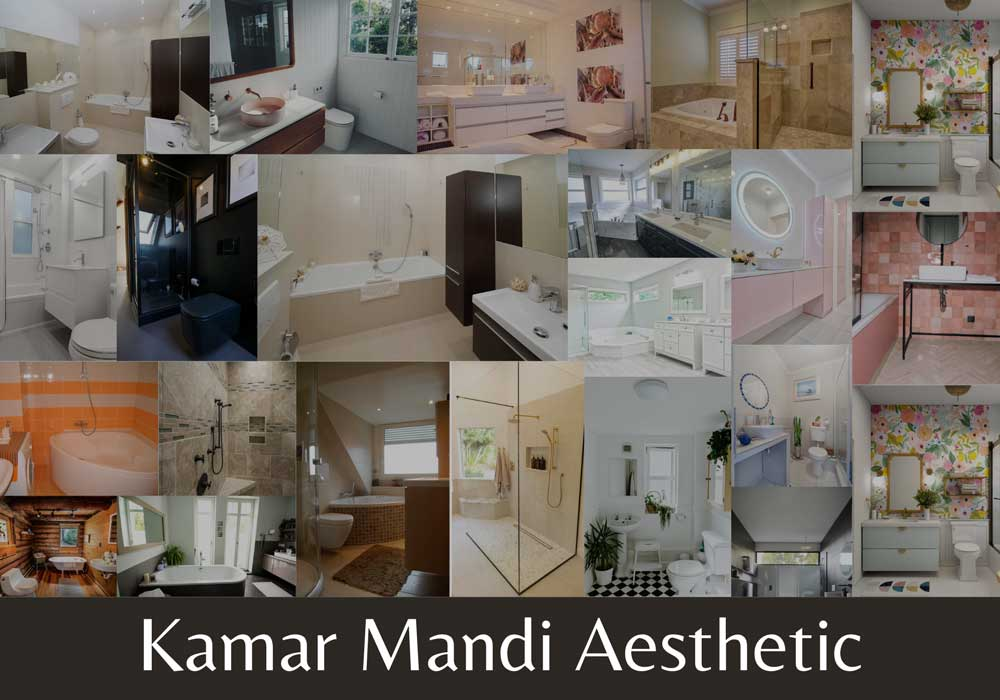 kamar mandi aesthetic